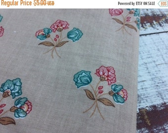 30%OFF SUPER SALE- Vintage Floral Fabric-Quilting Cotton Fabric