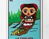 Loteria La Chalupa Print