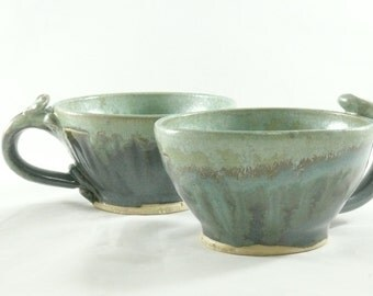 Green Pottery Cup, espresso cup, pottery mug, Ceramic Teacup,Latte cup, Lichen Green Glazed Mug, expresso