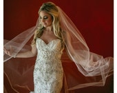 Wedding Veil Swarovski Crystal Rhinestone Cathedral Bridal Veil