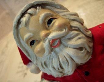 Sweet VINTAGE Santa Bank made in Japan