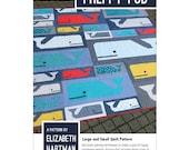 Preppy Pod quilt pattern from Elizabeth Hartman - 2 quilt sizes