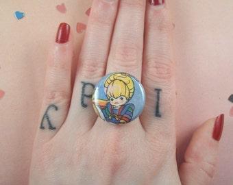 Rainbow Brite Ring