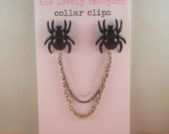 Spider Collar Clips