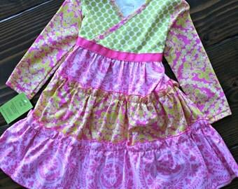 Girls Winter Dress Girls Valentines Day Dress Girls Party Dress Girls Spring Easter Dress
