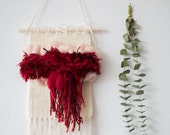 Day Two | One of a Kind Handmade Menstruation Weaving by Jackie Dives