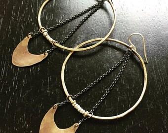 NEW Large Warrior Earrings