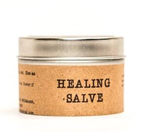 Healing Salve  All Natural - 4 ounce