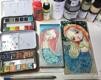 Magical Mermaid online project - by Mindy Lacefield