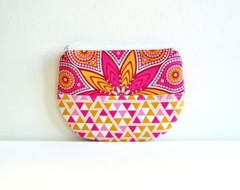 Zipper Pouch, Coin Purse, Women's Wallet, Makeup Bag, Cosmetic Case, Joel Dewberry, Wander
