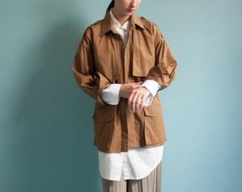 ANNE KLEIN trench field jacket / lightweight jacket / short trench coat / s / 2040o / B19