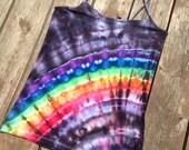 XXL Tie Dye Rainbow Cami Yoga Tank Gay Pride Lesbian Pride Tank Top