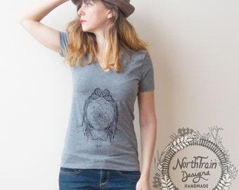 Dreamcatcher Women's V Neck Tee Shirt