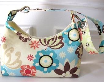 Small Floral Cotton Handbag