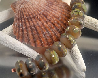 Velveteen Raku - Prima Donna Beads