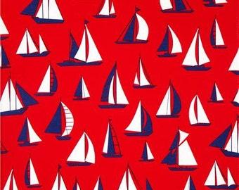 1 yard Timeless Treasures Ship Fabric