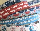 "5/8"" Weaving Star Paper~ Nautical Patterns (50 strips)"