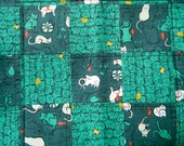 Kitty Cats Quilt Blanket For Mew