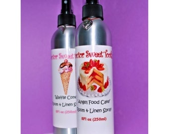 Room and Linen Spray 8oz (Pick Any Scent)
