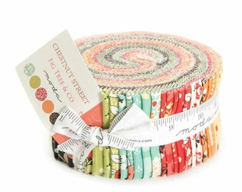 Chestnut Street Jelly Roll by Fig Tree & Co LAST ONE