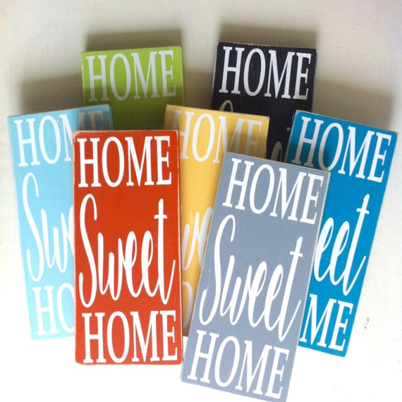 Home Sweet Home sign. Housewarming sign. Rustic sign. custom sign. Home decor. wall decor. wall art.
