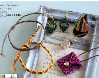 Macrame Accessories - Japanese Craft Book