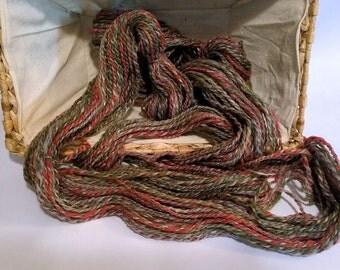 SALE  Weathered Barn, handspun wool yarn, 22 g/80 yds