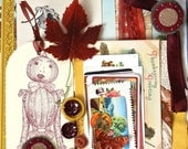 Vintage Autumn Fall Hunting Thanksgiving Art Inspiration Pack