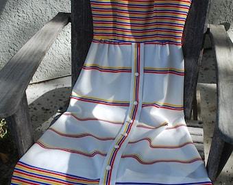Vintage Maxi Dress Carol or Marcia Brady
