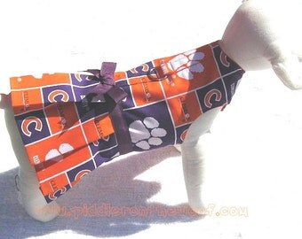 Dog Harness Dress  Clemson University