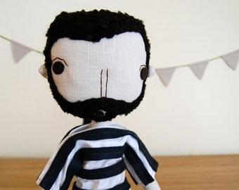 Boyfriend Gift, Handmade Boy Doll, Rag Doll, Custom Boy Doll, Personalized Doll, Fabric Doll, Anniversary Gifts for Boyfriend