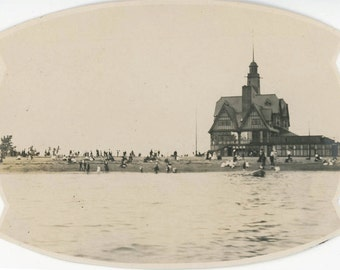vintage photo 1901 Marblehead Historic Massachusetts Beach Resort Hotel