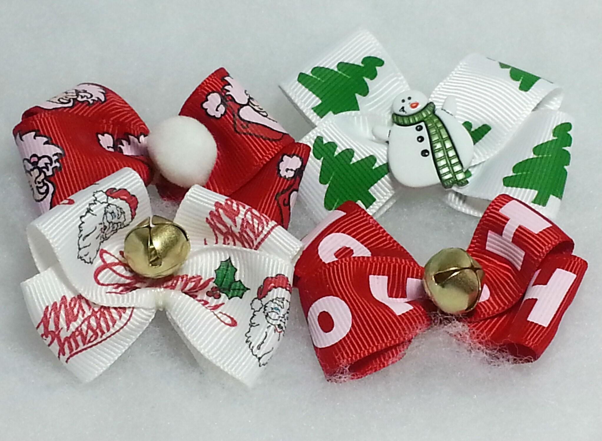 Big Christmas bows!