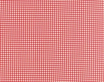 30's Playtime 2015 - From Chloe's Closet - For Moda - Scarlet (33046 19) - 9.85 Dollars for 1 Yard