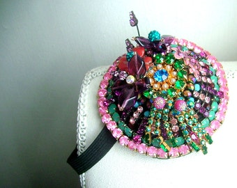 Be Unique -  hairband - OOAK  - Ready to ship xx
