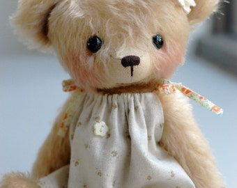 JENNY BEAR pattern and Kit - by bear artist Jenny Lee of Jennylovesbenny bears PDF