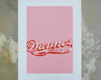 Danyes Jewelry — Screenprint