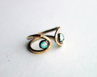 Opal Wing Ding Ring