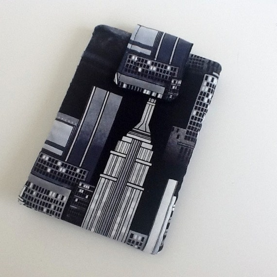 Eyeglass Frames New York City : New York City Pouch Eyeglasses Case Black White Accessories