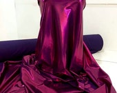Mystique Spandex Fabric GARNET/PURPLE  gymnastics, skating dress, dance, cheer bows, costume , pageant swimwear