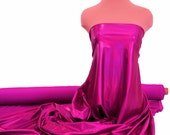 Reflective Holo Mystique Stretch Fabric.. orchid/fuchsia.. gymnastics.. dance..pageant..prom.. cheer bows
