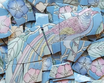 Mosaic Tiles--Bird Passage-100 tiles