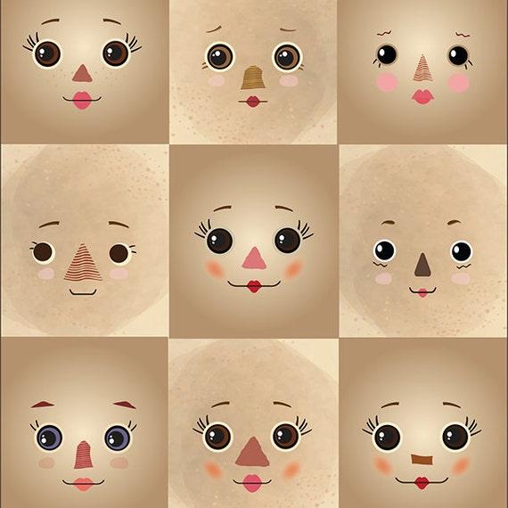 Doll Face Design
