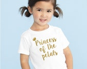 Princess of the petals shirt - Petal Patrol Glitter shirt flower girl tshirt  tee flower girl shirt