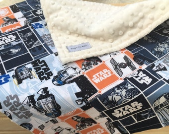 Star Wars Patchwork Blanket / Baby Blanket / Baby Gifts / Baby Shower Gift