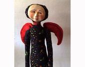 Guardian ANGEL spiritual gift of Harmony,Music,Sound art doll sculpture