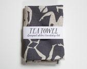 Man Dance Tea Towel - linen screen print