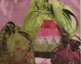 Handbag Sewing Pattern by Nancy Zieman for McCall's #M4884