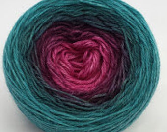 As You Wish Panoramic Gradient, 100g Greatest of Ease, dyed to order