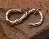 Sterling Silver S Hook Clasp, 432